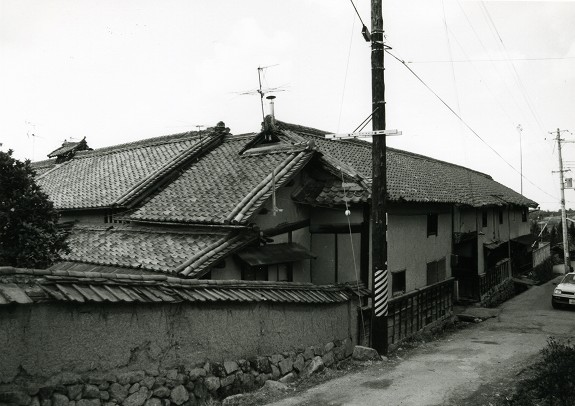 総門遠景 昭和56年