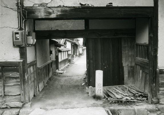 総門正面 昭和56年