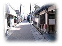 土佐街道石畳の道
