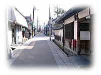 土佐街道 石畳の道